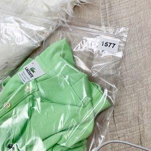 Lacoste Tops - Lacoste | Women's Green Short Sleeve Polo | 1577